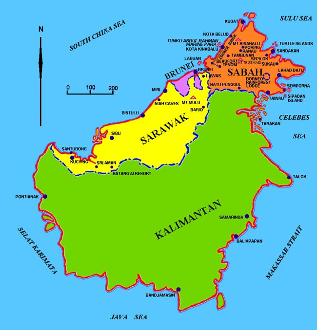 Borneo Island: Borneo Destinations With Dee-Luxe Journeys